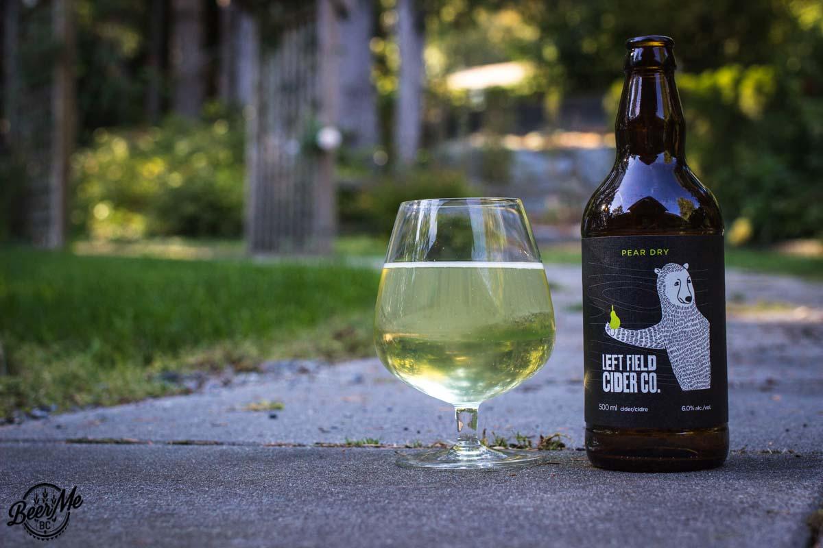 Gluten Free Pear Dry Left Field Cider Co