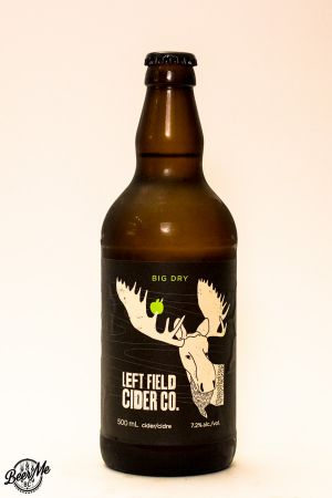 Left Field Cider Big Dry Bottle