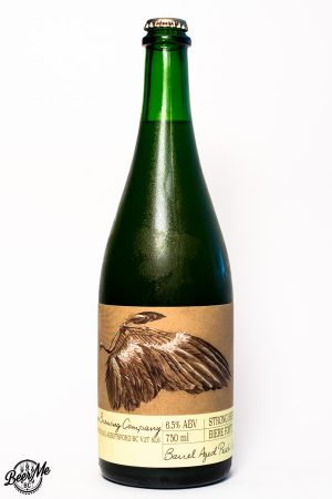 Ravens Brewing Wing Barrel Aged Saison Bottle