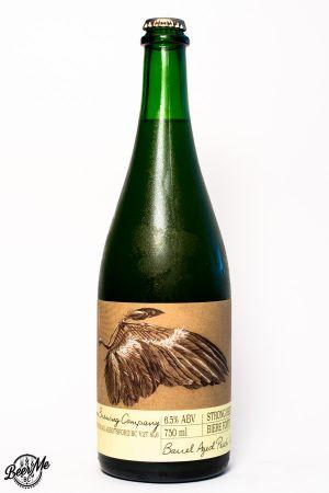 Ravens Brewing Wing Barrel Aged Saison Bottle