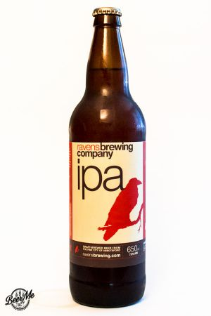 Ravens Brewing IPA Bottle