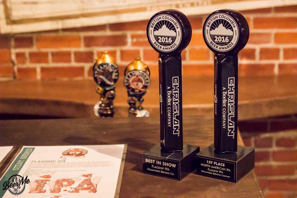 Steamworks Flagship IPA Awards