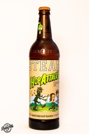 Steamworks Brewing Hop Attack 2016 Bottle