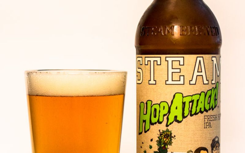 Steamworks Brewing Co. – Hop Attack Fresh Hop IPA 2016