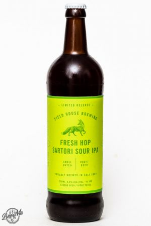 Fieldhouse Brewing Fresh Hop Sartori Sour IPA