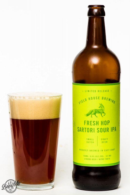 Fieldhouse Brewing Fresh Hop Sartori Sour IPA