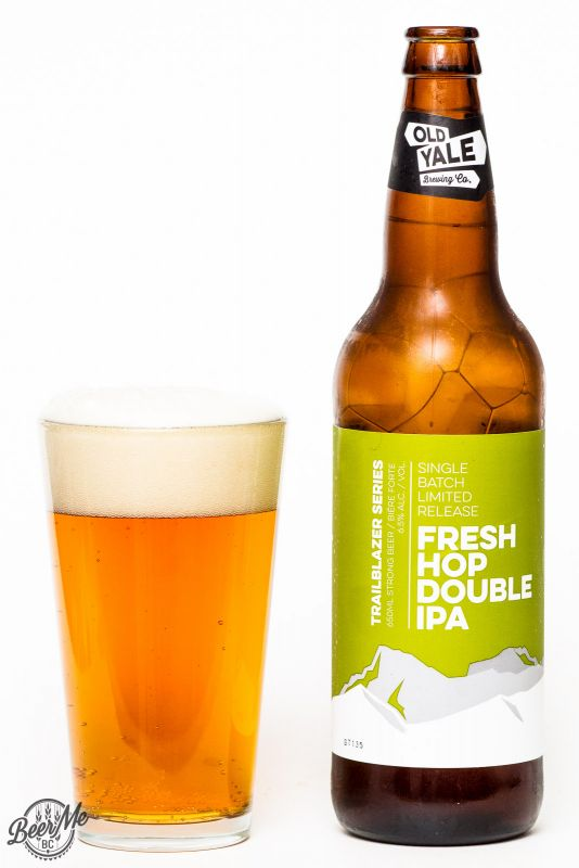 Old Yale Brewing Fresh Hop Double IPA