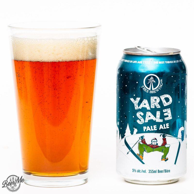Tree Brewing Yard Sale Pale Ale