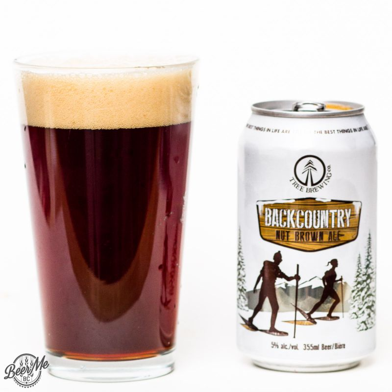 Tree Brewing Backcountry Nut Brown Ale