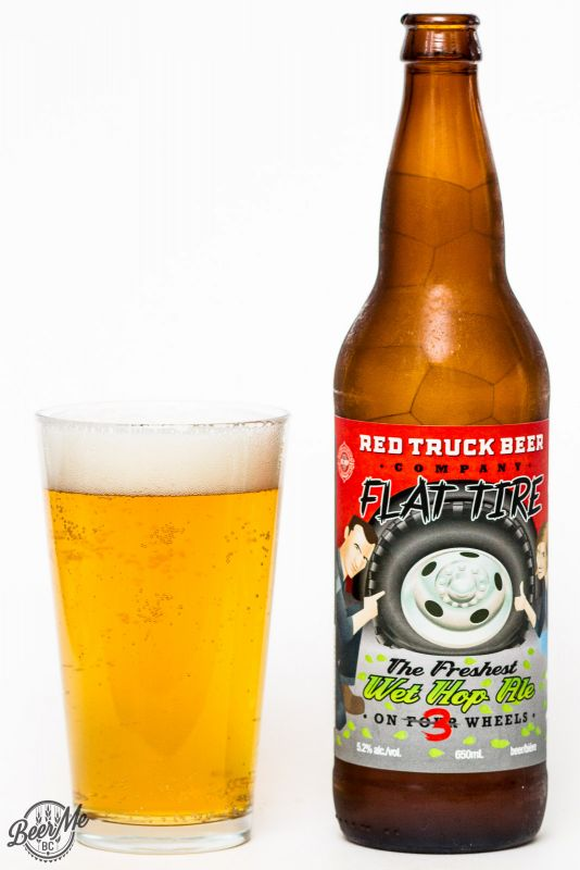 Red Truck Brewery Flat Tire Fresh Hop Ale Review