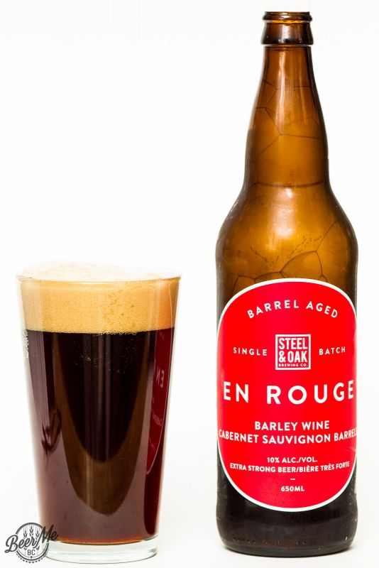 Steel & Oak Brewing En Rouge Barley Wine Review