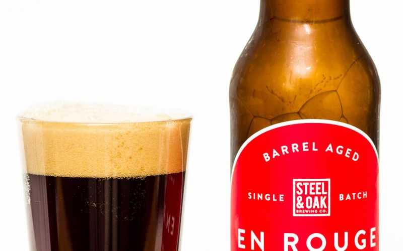Steel & Oak Brewing Co. – En Rouge Cab Sauv Barley Wine