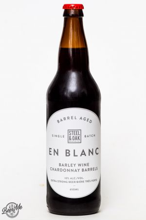 Steel & Oak Brewing En Blanc Barley Wine Review