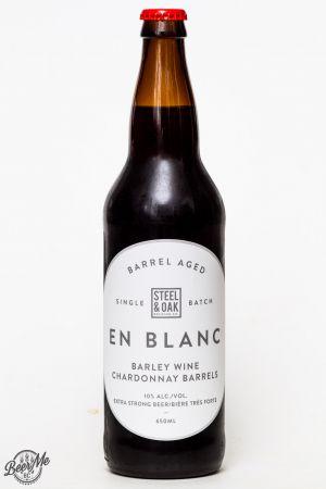 Steel & Oak Brewing En Blanc Barley Wine Review