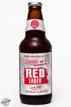 Tree Brewing Raw Series Red Lager Review