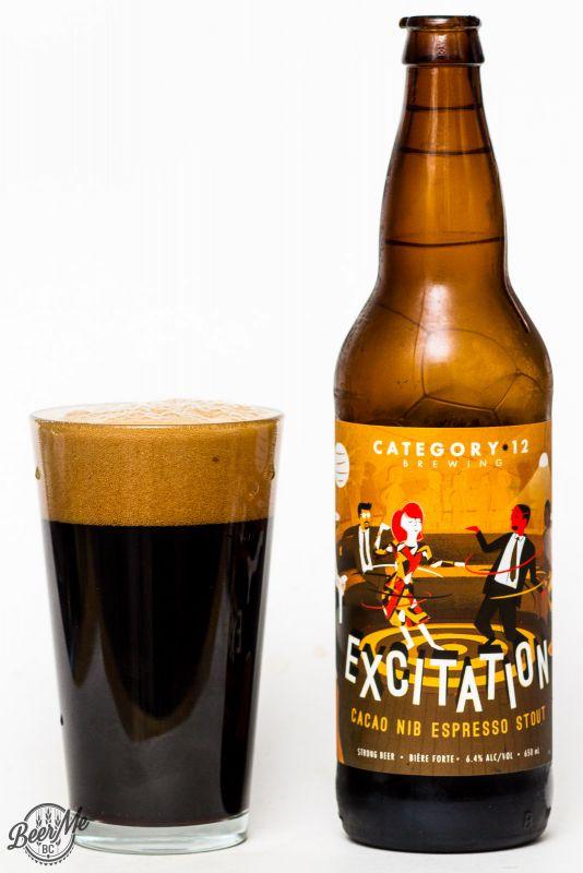 Category 12 Brewing Excitation Cacao Nip Espresso Stout Review