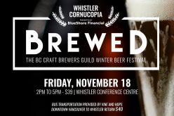 Cornucopia and the BC Craft Brewers Guild present Brewed in Whistler BC