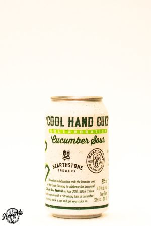 Hearthstone Brewery Cool Hand Cuke Cucumber Sour Can