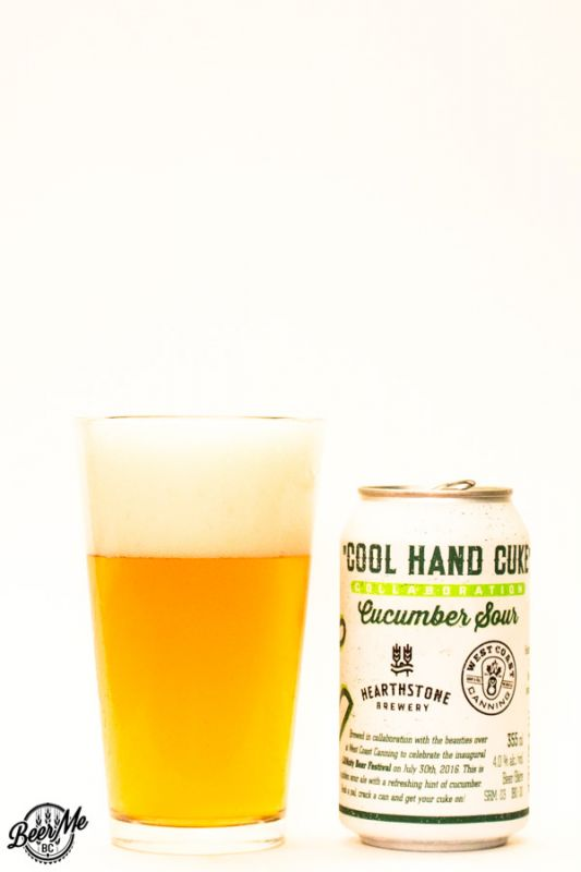 Hearthstone Brewery Cool Hand Cuke Cucumber Sour
