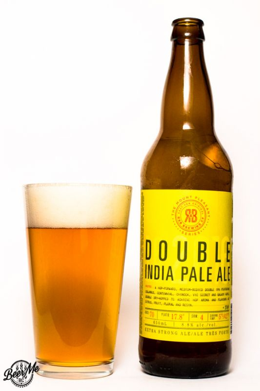 R&B Brewing Co Mt Pleasant Double IPA