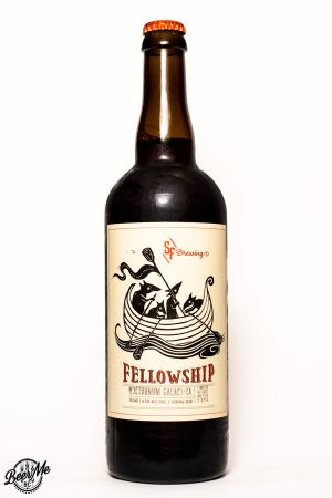 Strange Fellows Brewing Nocturnum Galactica Bottle