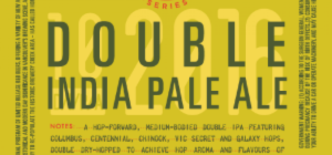R&B Brewing Launches New Double India Pale Ale