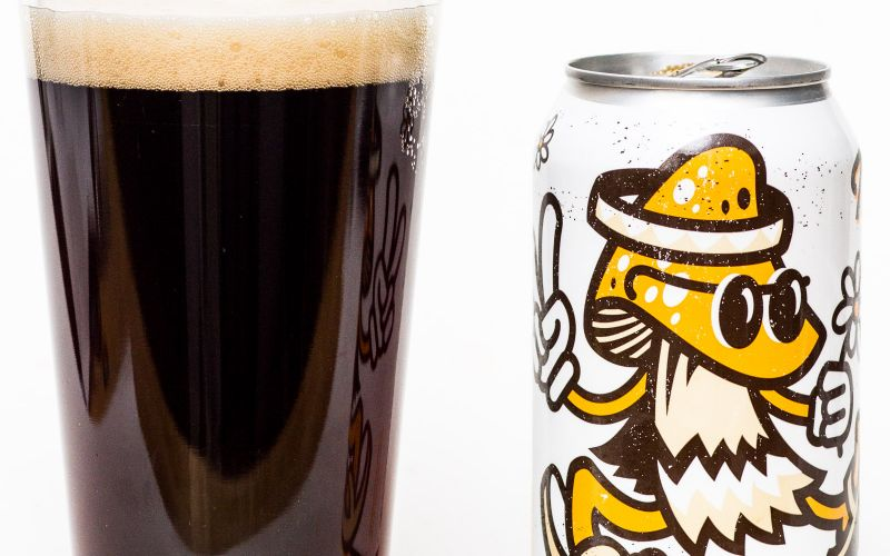 Hearthstone Brewing Co. – Mr. Fungi Chaga Black Lager