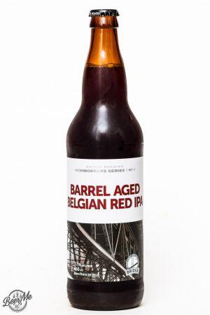 Bridge Brewing barrel Aged Belgian Red IPA Review