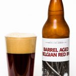 Bridge Brewing barrel Aged Belgian Red IPA Review