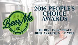 2016 Beer Me BC People's Choice Awards