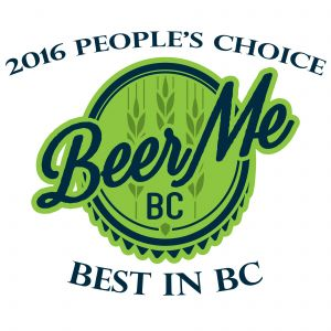 2016 Beer Me BC People's Choice Award
