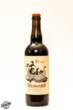 Strange Fellows Brewing Boris Arabica Imperial Stout Bottle