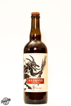 Strange Fellows Brewing Krampus Abbey Dubbel Bottle
