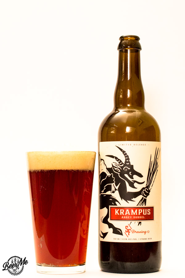 Strange fellows brewing krampus abbey dubbel beer me for Strange craft beer company