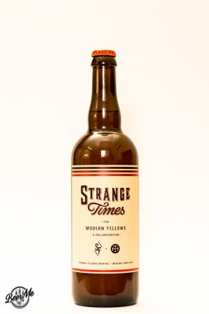 Strange Fellows Modern Times Collaboration Strange Times for Modern Fellows Bottle