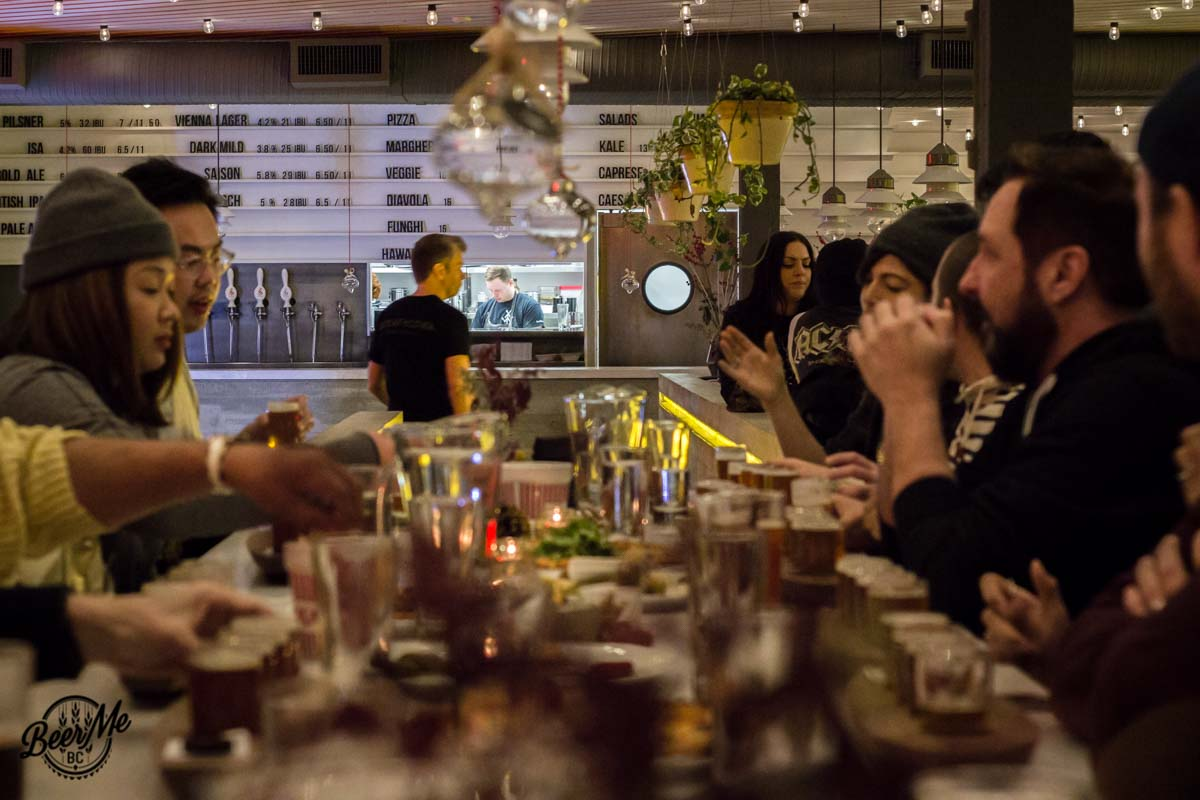 Strathcona Brewing Long Table
