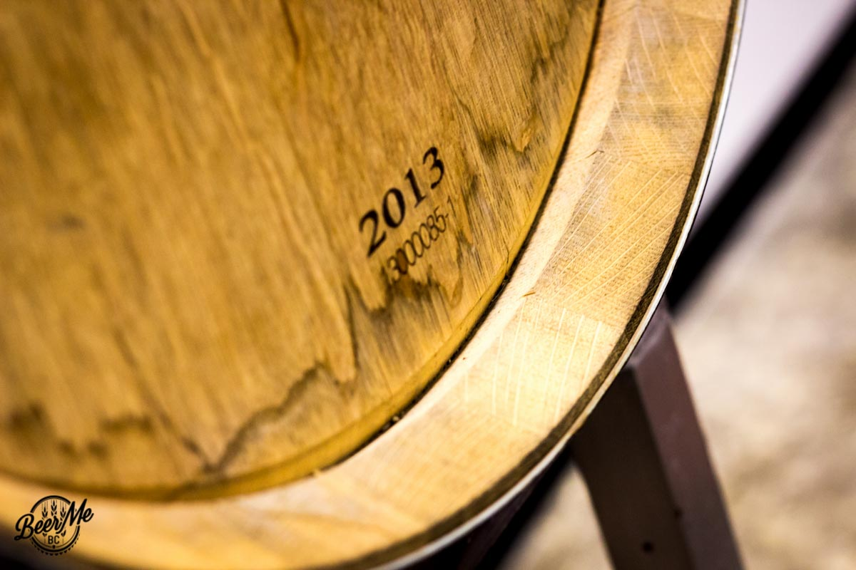 Strathcona Brewing Barrel Aging Beer