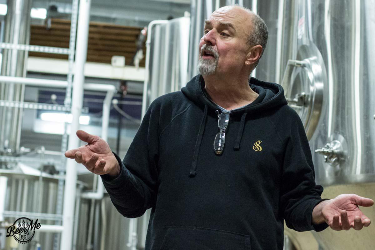 Strathcona Brewing Fezz Talking