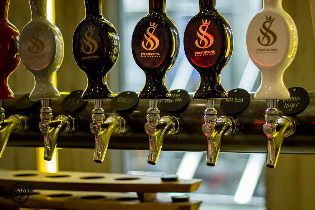 Strathcona Brewing Taps