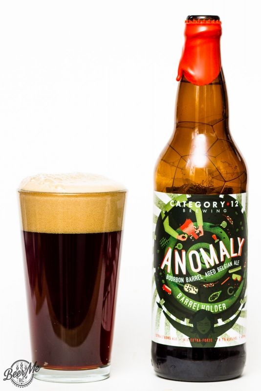 Category 12 Brewing Anomaly Barrel Aged Ale Review