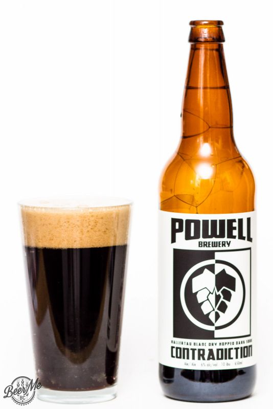 Powell Street Brewery Contradiction Dark Sour Ale Review