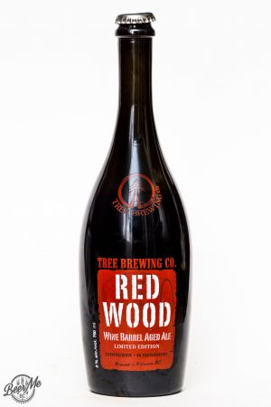 Tree Brewing 2016 Red Wood Barrel Aged Ale Review