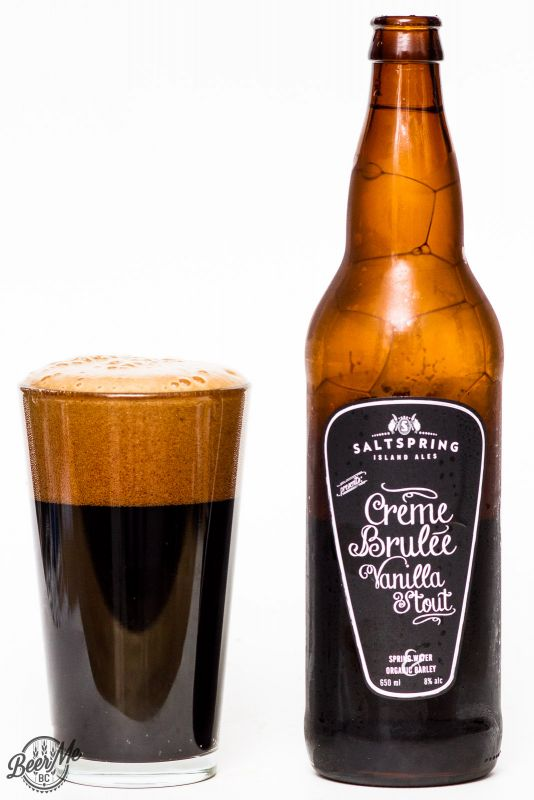 Saltspring Island Ales - Creme Brulee Stout Review