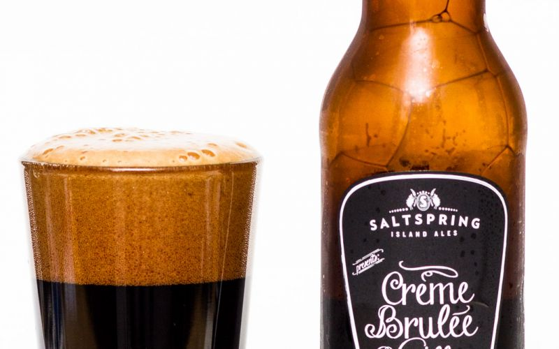 Saltspring Island Ales – Creme Brulee Vanilla Stout
