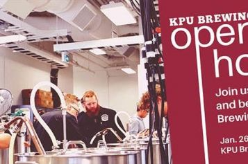 You're Invited! – KPU Offers Brew School Open House