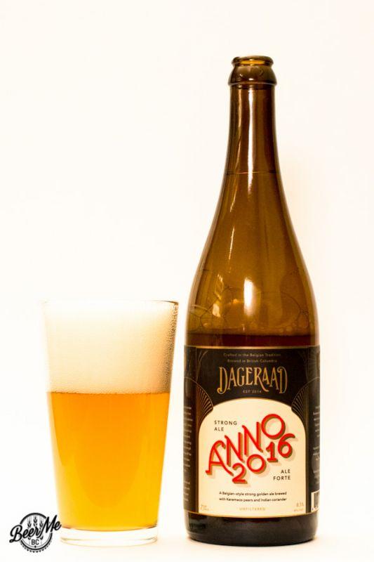 Dageraad Brewing Anno 2016