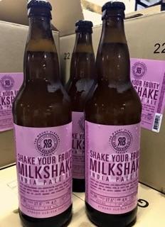 R and B Brewing Shake Your Fruity Milkshake IPA
