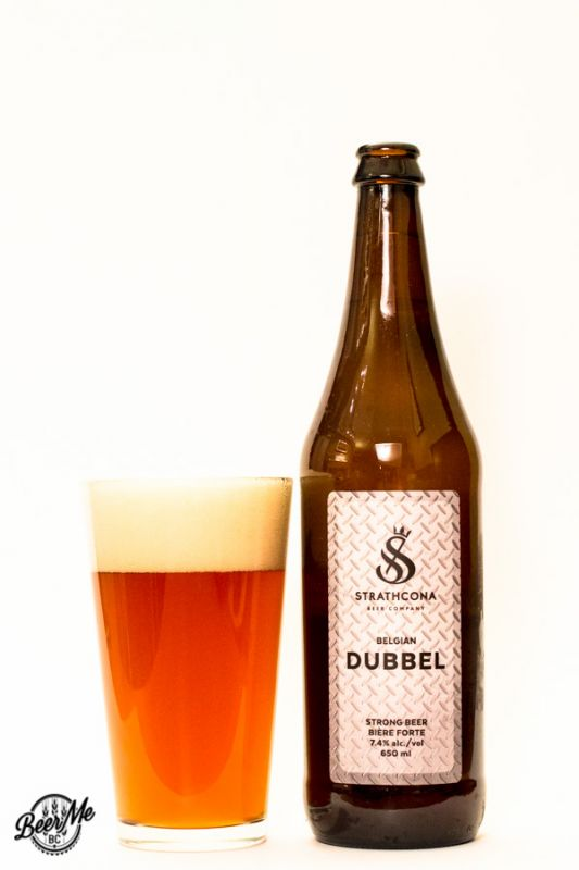 Strathcona Beer Co Belgian Dubbell