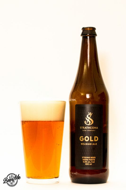 Stratchona Beer Company Gold Belgian Ale