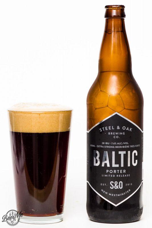 Steel & Oak Brewing Baltic Porter Review